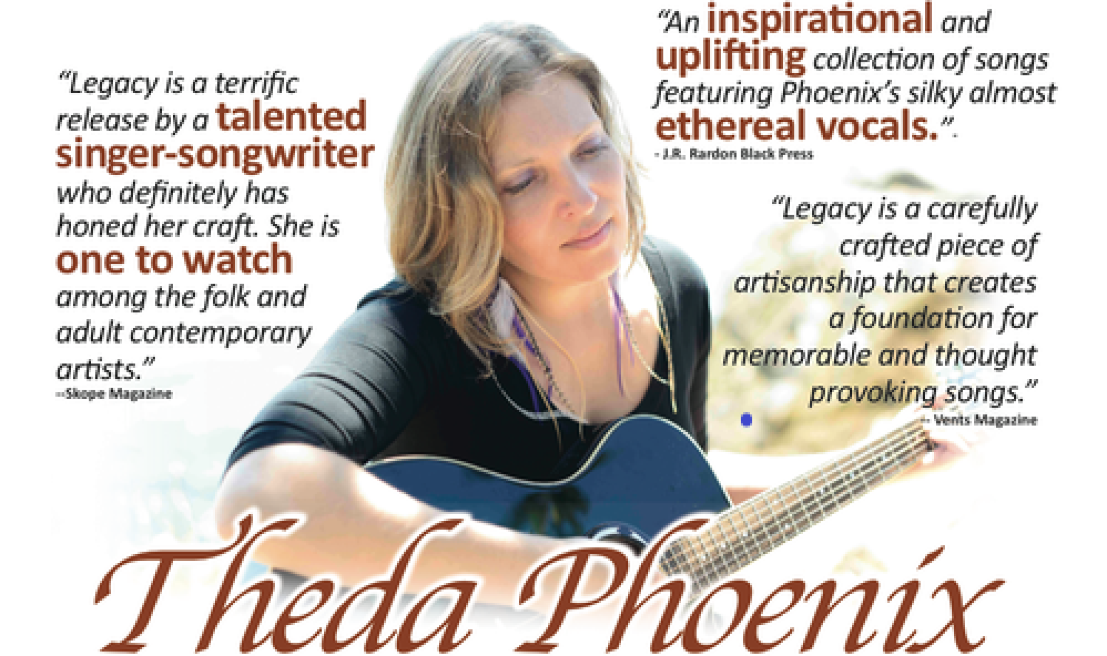 Up Close, and Personal – An Intimate Evening with Theda Phoenix