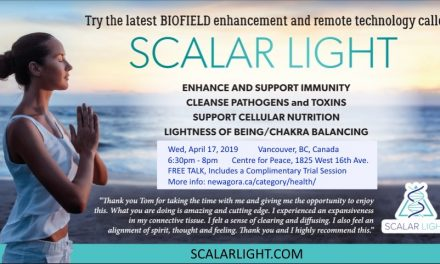 Scalar Light Healing with Tom Paladino