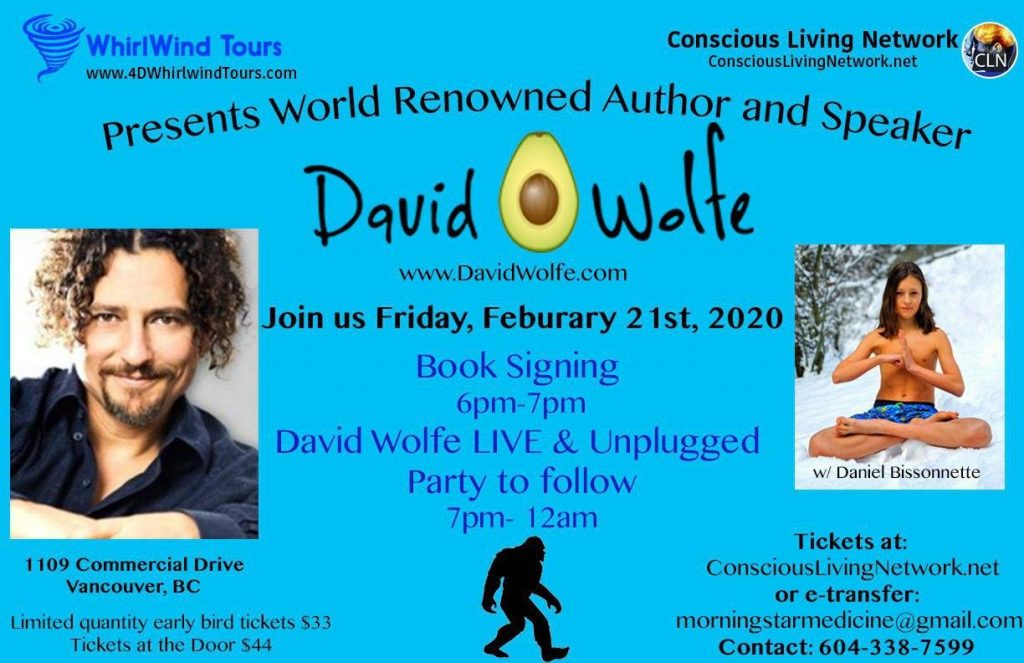 "David ""Avocado"" Wolfe Live and Unplugged"