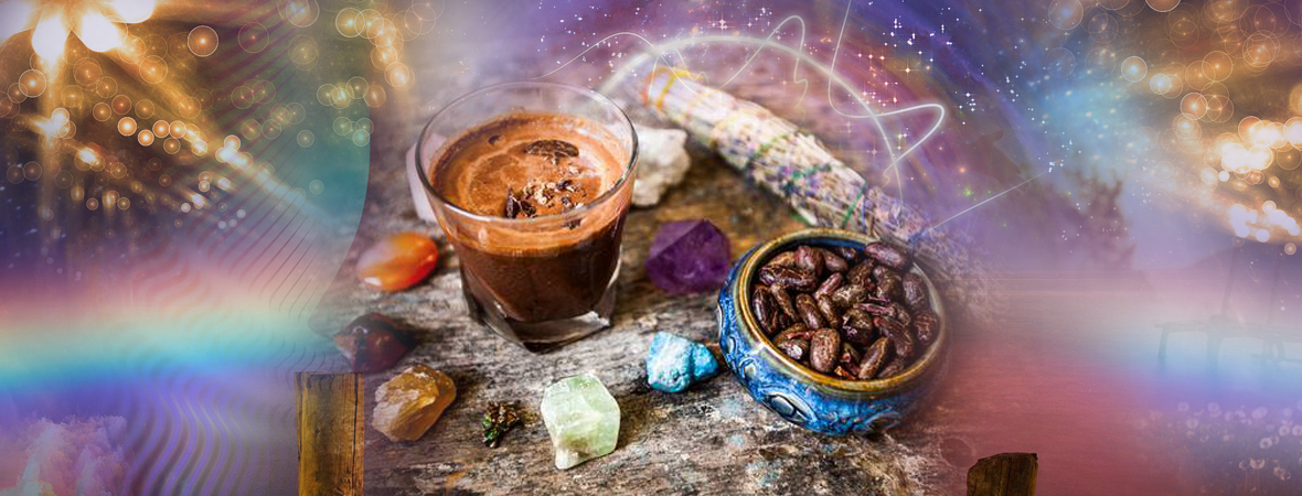 """May 9, 2020: Aztec Combo """"Magic"""" Cacao Ceremony: Meditation and Sound Journey – with Matthew Kocel"""