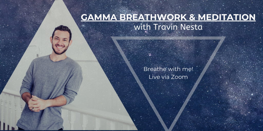 Every Wednesday Night @ 5:00pm PST – Gamma Breathwork Experience