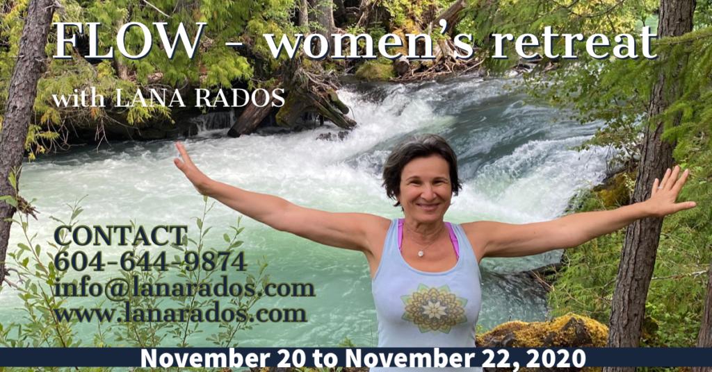 November 20, 2020: FLOW – Women's Retreat with Lana Rados