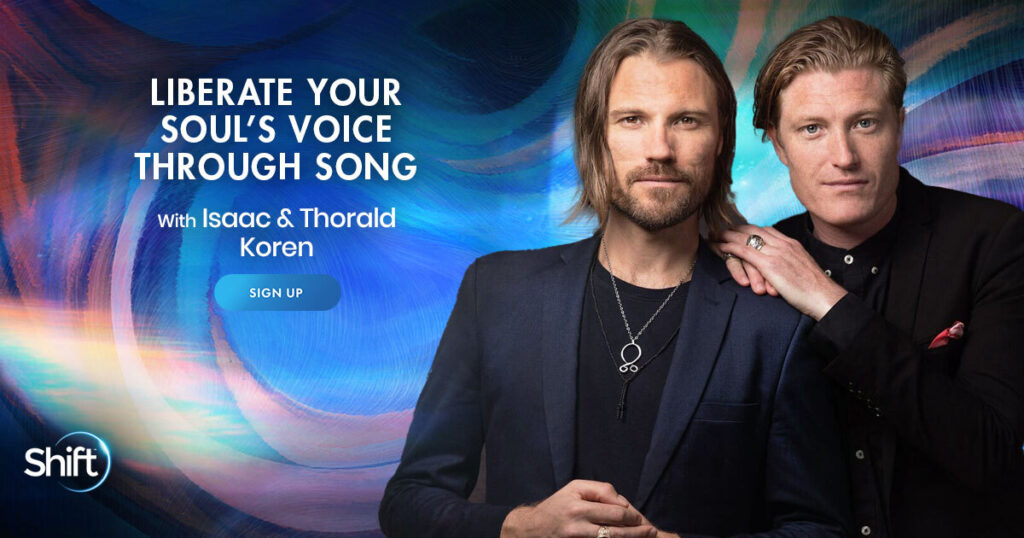 April 28 – May 19: Liberate Your Soul's Voice Through Song with Isaac & Thorald Koren