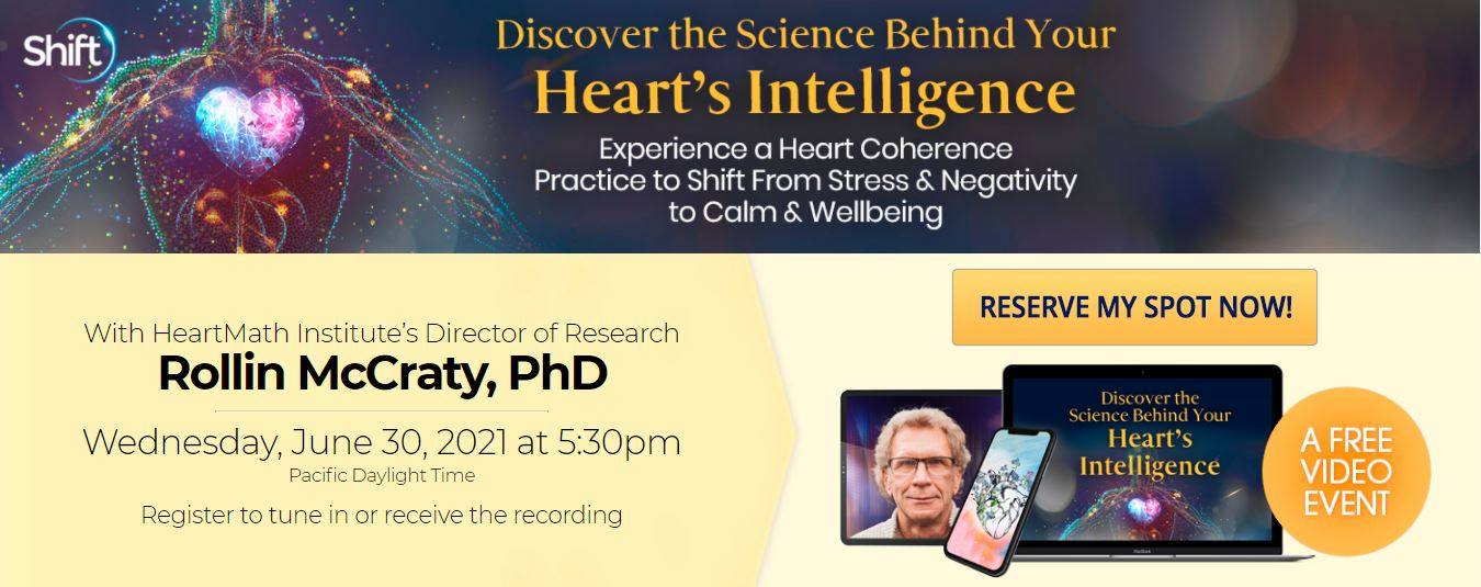 Read more about the article Discover the Science Behind Your Heart's Intelligence with Rollin McCraty